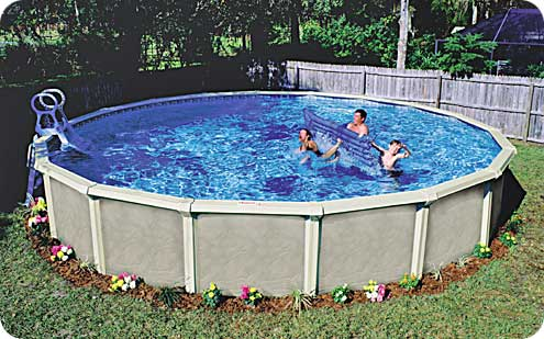 Above ground pool packages helping you sustain your pool for Above ground pool deals