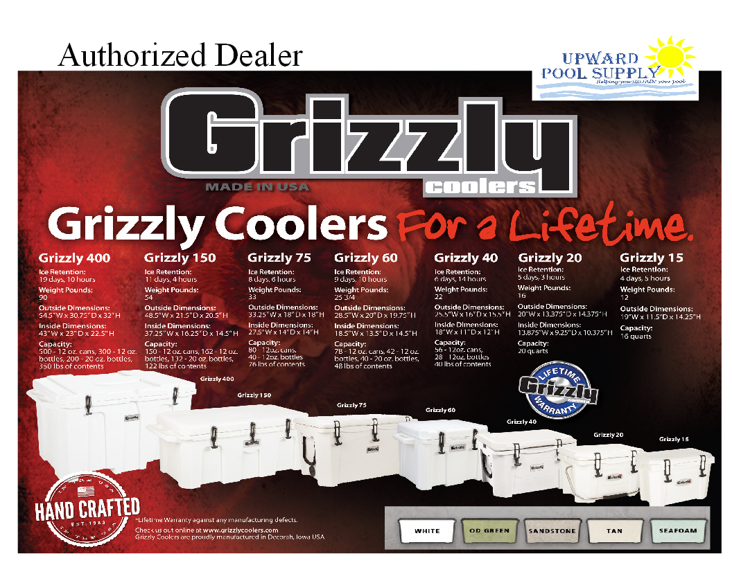 Grizzly Cooler Line up